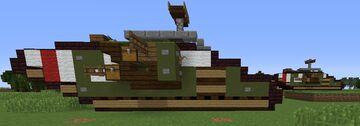 Mark V Tank Minecraft Map & Project