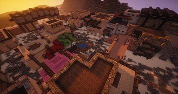 Desert village Minecraft Map & Project