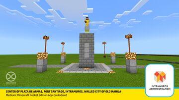 Plaza De Armas, Fort Santiago, Intramuros Minecraft Map & Project