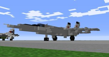 1.5:1 Mig-25 'Foxbat' Minecraft Map & Project