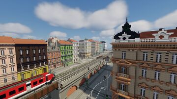 Central european city Minecraft Map & Project