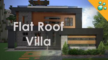 Flat Roof - Modern Villa Minecraft Map & Project