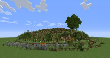 Bag End Hill Minecraft Map & Project