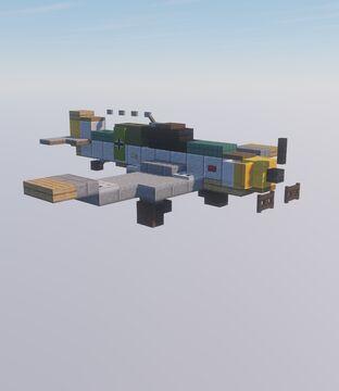 Messerschmitt Bf 109 Minecraft Map & Project