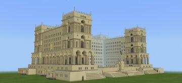 Government House of Baku | Hökumət Evi. Minecraft Map & Project
