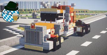 1985 Peterbilt 359 Minecraft Map & Project