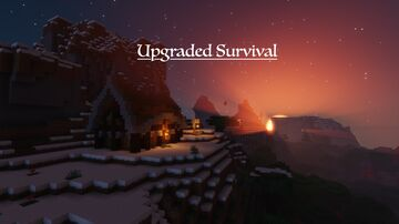 Upgraded Survival 1.16.1 Minecraft Map & Project