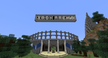 the iron Arena Minecraft Map & Project