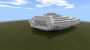 Jupiter Spaceship From Lost In Space (MCPE/Bedrock Ver.) Minecraft Map & Project