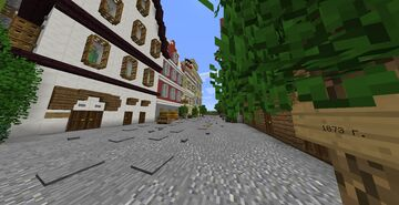 Street German Impere Minecraft Map & Project