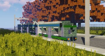 Tram Minecraft Map & Project