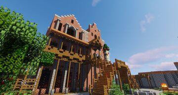 Witcher ~ The Passiflora ~ Novigrad ~  COMPLETE INTERIOR Minecraft Map & Project