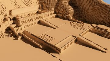 Temple of Hatshepsut Minecraft Map & Project