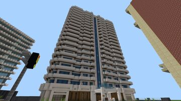 Luxurious Hotel In MINECRAFT Minecraft Map & Project