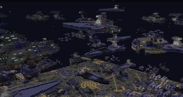 Battle over Coruscant map | Minecraft 1.12.2 Minecraft Map & Project