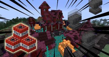 Minecraft Destruction Survival 1.16.1 Minecraft Map & Project