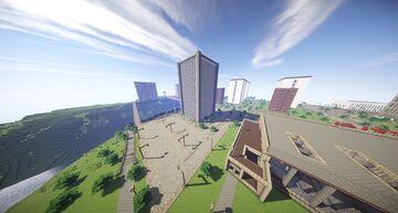Pokrov Soviet city Update #6 Minecraft Map & Project