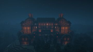 [File fixed]Spruce Mansion Minecraft Map & Project
