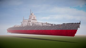 Admiral Graf Spee In schematic ! (and maps !) Minecraft Map & Project
