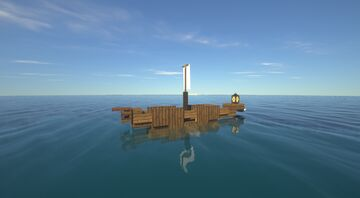 A small boat named l'éléphant Minecraft Map & Project