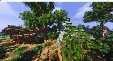 Mayan ruin pyramid [Free Download] Minecraft Map & Project