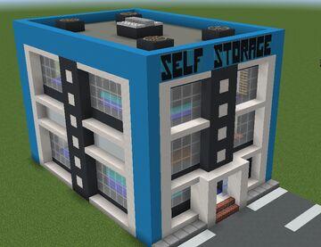 Top Shelf Self Storage - Metropolis Contest Minecraft Map & Project
