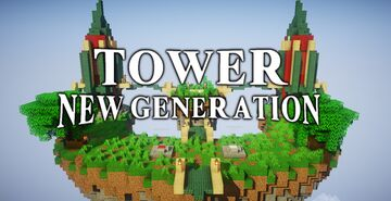 [1.15.2] Tower New Generation Minecraft Map & Project
