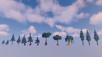 Tree Pack | DOWNLOAD schematic here! Minecraft Map & Project