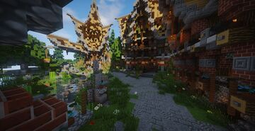fantasy Minecraft Map & Project