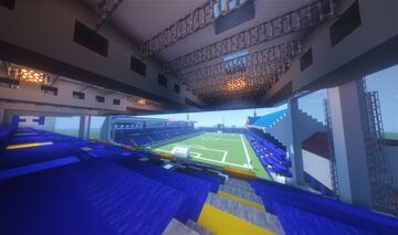 Fratton Park Minecraft Map & Project