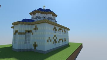 church of St segius and bacchus - little hagia sophia Minecraft Map & Project
