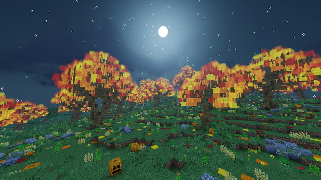 The Season Valley, 2,176x2,176 Season Map Minecraft Map