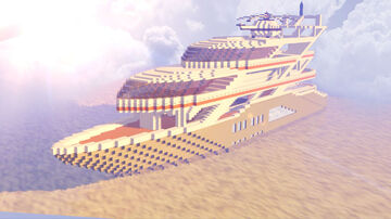 Mega Yacht Showcase Minecraft Map & Project