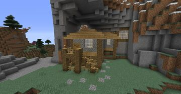 Mountain Base - Chisel & Bits Minecraft Map & Project