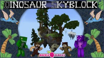 Dinosaur Skyblock Minecraft Map & Project