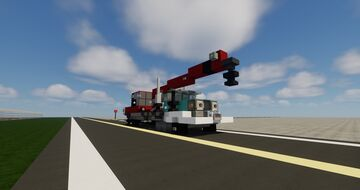 GMC MH9500 with Crane Attachment Minecraft Map & Project