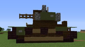 T26-E Light Tank Minecraft Map & Project