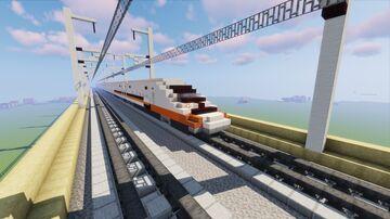 Taiwan high speed rail 700T Minecraft Map & Project