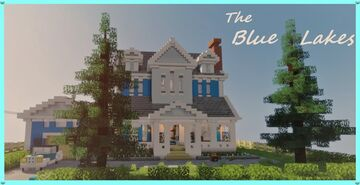 The Blue Lakes || Interior Contest || LunerHive Minecraft Map & Project