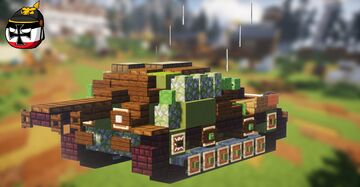 Ikv 103 (2:1 scale) Minecraft Map & Project