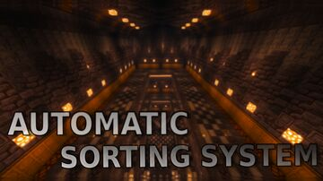 Automatic Sorting System By JiBarter Minecraft Map & Project