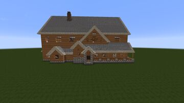 Chalet / Holiday house in the mountains Minecraft Map & Project