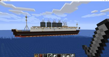 Lusitania Minecraft Map & Project