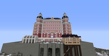 The Grand Budapest Hotel Minecraft Map & Project