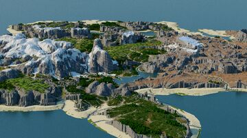 Advent Map [19] Dekan  [4k, Survival, Multibiome, Download: Java & Bedrock] Minecraft Map & Project