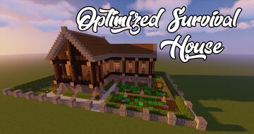 Maison Minecraft Maps With Downloadable Schematic Planet Minecraft Community
