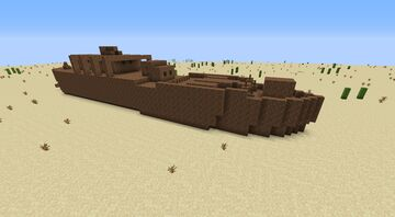 Wrecked MS Aquatic Minecraft Map & Project