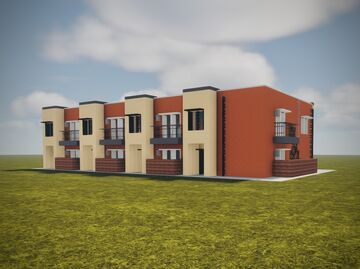 Townhomes Minecraft Map & Project