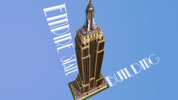 Empire State Building - 1/2 scale Minecraft Map & Project