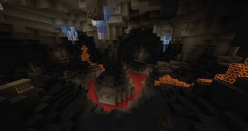 Draconic Cave Dungeon Minecraft Map & Project
